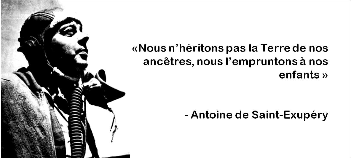 Antoine de St Exupery