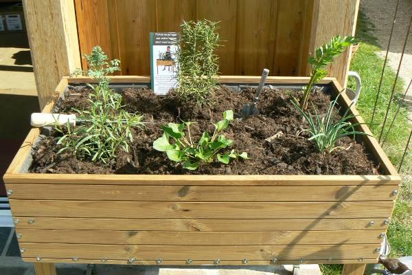 carré pour jardiner