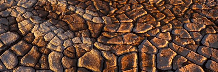 Terre désert de Namibie - Afrique