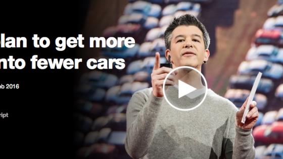 Uber impact positif sur l'environnement